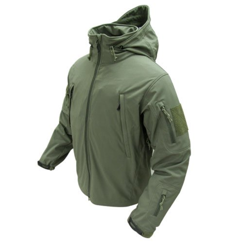 Condor Outdoor COP-602-001-M Summit Softshell Jacket, OD Green - Medium (Condor Insulated compare prices)