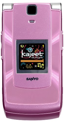 Sanyo Katana II Prepaid Phone, Pink (Kajeet)