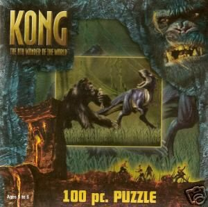 Kong; the 8th Wonder of the World; 100 pc. Puzzle