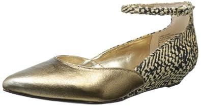 Seychelles Women's Whisper In My Ear Wedge Pump,Bronze Metallic,6 M US