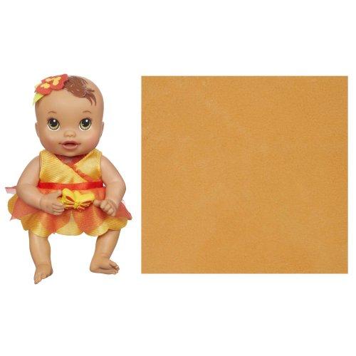 Imagen de Baby Alive patadas y Cuddles recién nacidos Doll - hispanos Brown Eyes Light