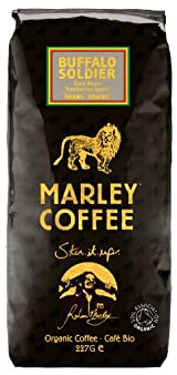 Buffalo Soldier Dark Roast Organic Blend - Whole Bean Coffee