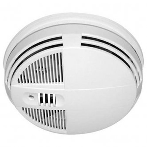 Kjb Sc7250 Smoke Detector Camera Xtreme Life Wireless Bottom View Night Vision front-1088674