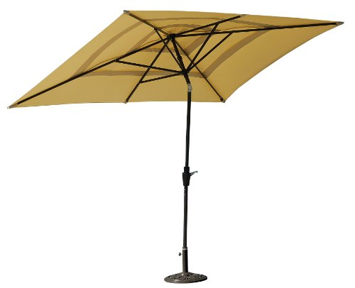 ace evert rectangular umbrella cheap patio furniture sets