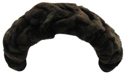 Bergama Sheared Mink Headband - Brown