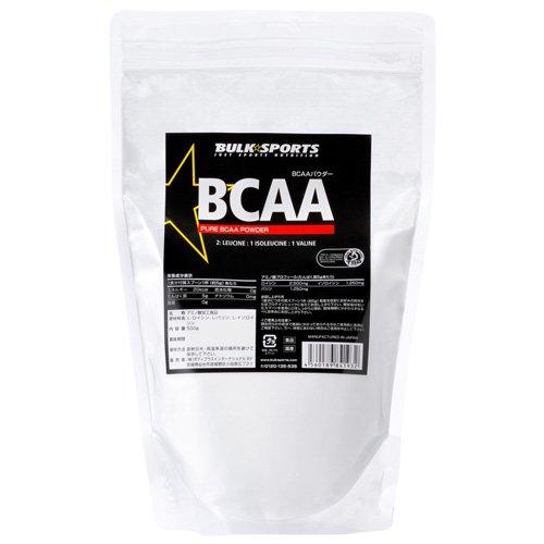 バルクスポーツ BCAAパウダー 500g ノンフレーバー