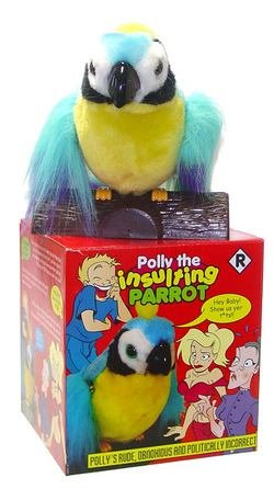 Polly the Cursing Parrot