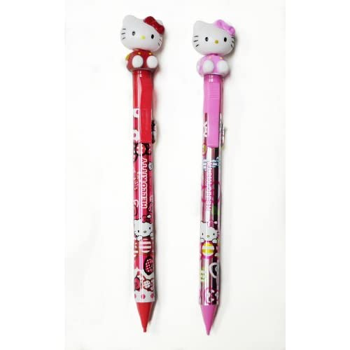 Red and Pink Hello Kitty Mechanical Pencils