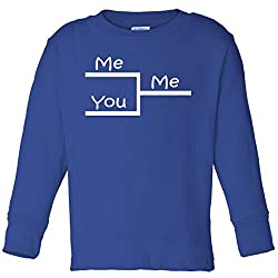 March Me You Bracket I am Better Win Madness Toddler Long Sleeve T-Shirt