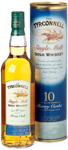TYRCONNELL 10 Year Old Sherry Finish Single Malt Irish Whiskey 70cl Bottle