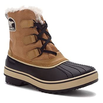 The Sorel Women's Tivoli boots are a lightweight and stylish solution to keep your feet warm and dry through the most fierce winter conditions. With a fully waterproof shell and Thinsulate enhanced fleece lining, you'll be ready to sink your feet int...