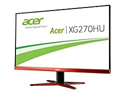 Acer XG270HUomidpx 27-Inch WQHD Gaming Monitor with AMD FreeSync (16:9, ZeroFrame)