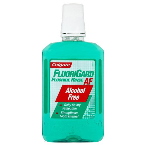Colgate Fluorigard Alcohol-Free Daily Rinse 500ml