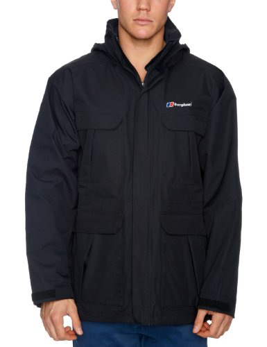 Berghaus RG Parka Shell Men's Jacket - Black, Medium