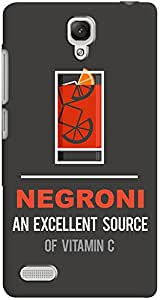 DailyObjects Negroni Case For Xiaomi Redmi Note 4G