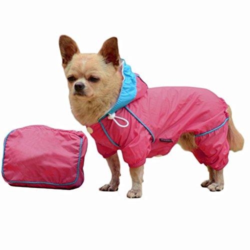 Sturm Hoodie Hund Regenmantel Haustier RegenJacke Wasserdicht Kleidung