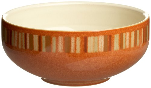 Denby Fire Stripes Soup/Cereal Bowl