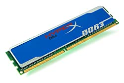 Kingston Technology HyperX Blu 4GB 1333MHz DDR3 Non-ECC CL9 DIMM KHX1333C9D3B1/4G