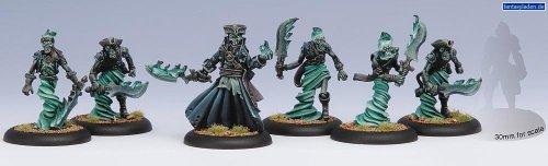 Warmachine Cryx Blackbane's Ghost Raiders Unit Box