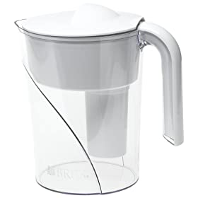 Home kitchen kitchen dining water coolers filters pitcher water filters godrules - Bobble water pitcher ...