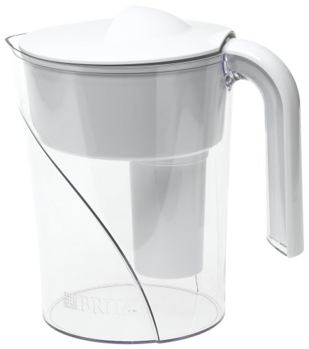 Brita Classic Water Filter Pitcher, White