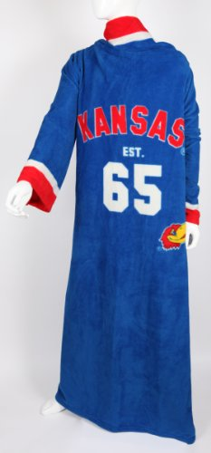 NCAA Kansas Jayhawks Unisex Uniform Snuggie Blanket - Royal Blue at Amazon.com