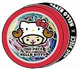 デルフィーノ ワンピースキティ 缶クリップ レッド OSA−33555