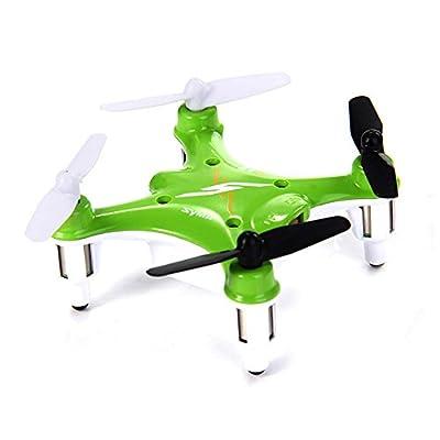 4-Kanal RC ferngesteuerter mini Nano Quadcopter Pro, Neuestes UFO-Modell inkl. Ersatzteil-Set, Modell-Drohne für 3D-Flug, Ready-to-Fly