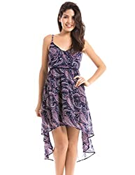 Shuffle Women's A line Dress (1021514801_Multi Color_X-Small)