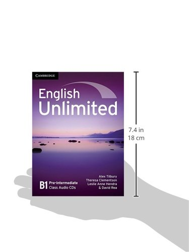 English Unlimited Pre-intermediate Class Audio CDs (3)