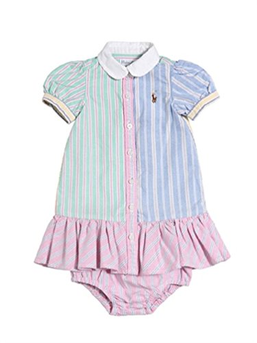 •Ralph Lauren Childrenswear Oxford Dress - Pink - 18 Months
