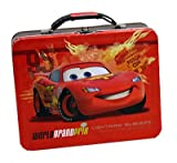 Cars 2 Lightning McQueen Embossed Metal Lunch Box