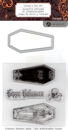 Hampton Art Coffin Stamp & Die