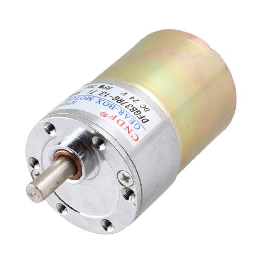 24V Dc 200Rpm 6Mm Shaft Magnetic Electric Gear Box Motor Replacement