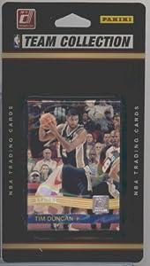 2010 2011 Donruss Basketball SAN ANTONIO SPURS Team Set - 9 Cards Including Tim... by Panini