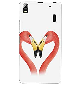 LENNOVO A7000 PLUS BIRDS Designer Back Cover Case By PRINTSWAG