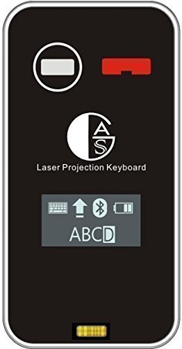 AGS Laser Projection Bluetooth Virtual Keyboard & Mouse with Build in Display Screen