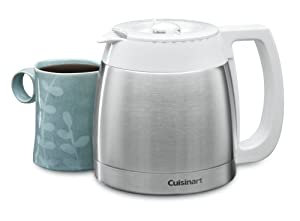 Cuisinart DCC-755RC 10-Cup Replacement Thermal Carafe, White
