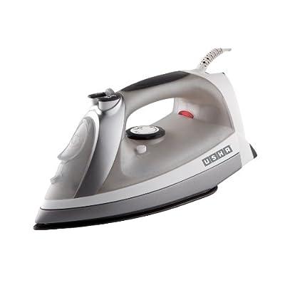 Usha Techne 1000 2400-Watt Steam Iron (White and Grey)