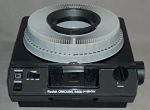 Kodak Carousel 4400 Slide Projector with 140 Capacity Slide Tray