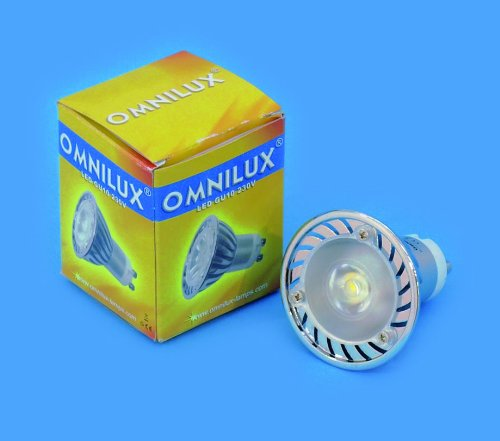 OMNILUX GU-10 230V 1x3W LED 3000K