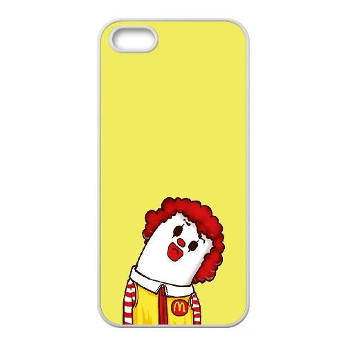iPhone 5 5s Cell Phone Case White CariCartoon Funny Cartoon 16 JSK865212