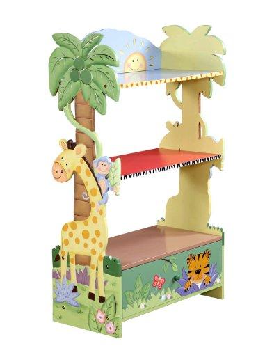 Sunny Safari - Book Shelf