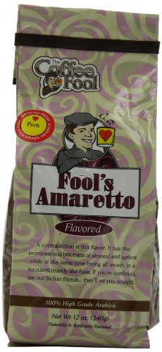 The Coffee Fool Perk Coffee, Fool'S Amaretto, 12 Ounce