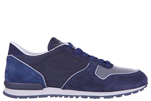 Tod's scarpe sneakers uomo camoscio nuove active sportivo ym blu EU 43 XXM0YM0L810CGW54FR
