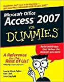 img - for Access 2007 For Dummies 1st (first) edition Text Only book / textbook / text book