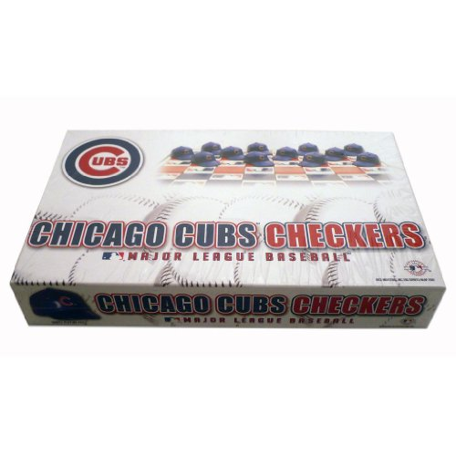 Big League Promotions Chicago Cubs Checkers at Amazon.com