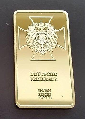 1-oz-999-fine-pure-gold-layered-steel-bar-deutsche-reichsbank-central-bank-of-germany-and-hitler-sig