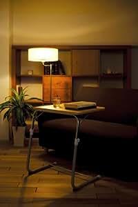koeki フォールディングサイドテーブル ブラウン FLS-1(BR)