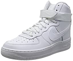Nike Air Force 1 High (GS) White 653998-100 (SIZE: 6.5Y)